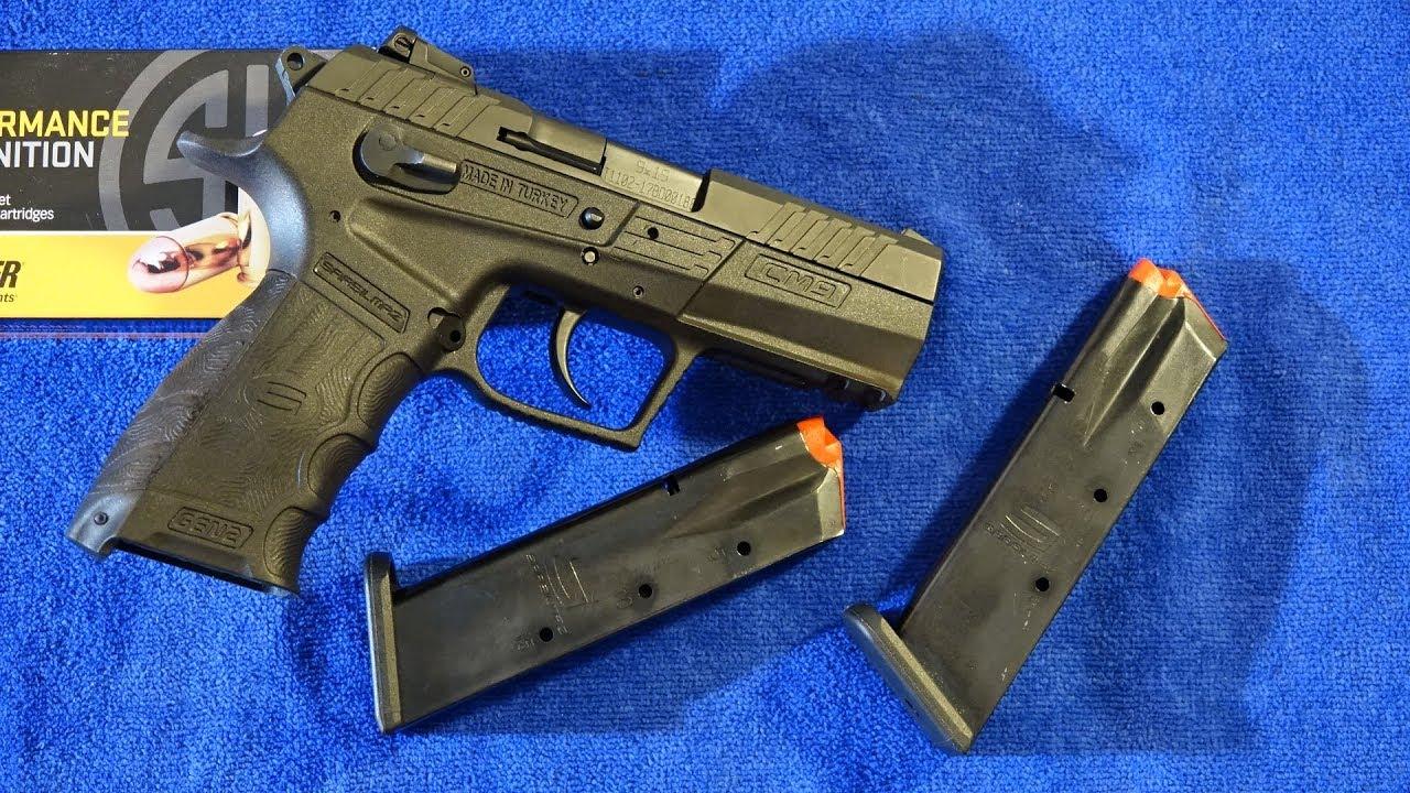 SAR USA CM9 Gen 2 9mm Pistol Review