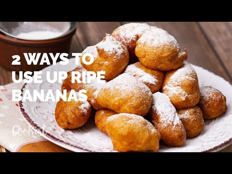 How To Use Ripe Bananas: 2 Delicious Mini Recipes!