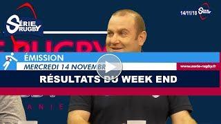 Emission Série Rugby Mercredi 14 novembre 2018