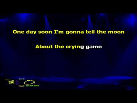 Dave Berry   The Crying Game - Karaoke