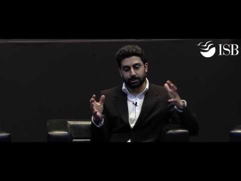 In conversation with Abhishek Bachchan at the ISB Leadership Summit (ILS) 2017