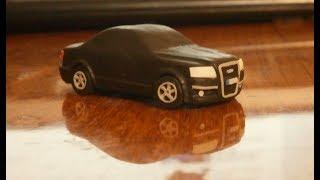 Урок как слепить из пластилина Audi A6 | Tutorial how to sculpt AUDI