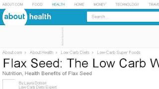 Health Benefits Of Cold Milled Flax Seed