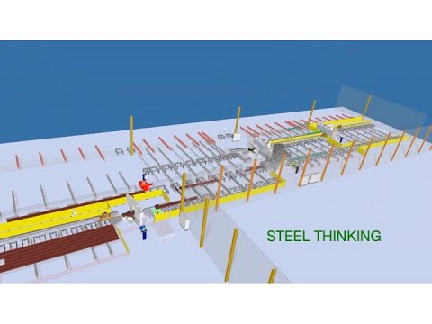 Intelligent Steel Fabrication Fully Automates All Processes When Processing Structural Steel