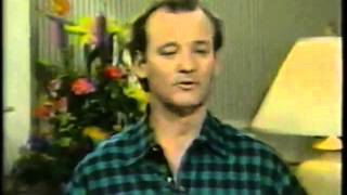 Bill Murray Ghostbusters 2 Good Morning America Interview. (1989)