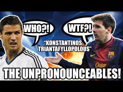 The Unpronounceables: XI Footballers' Names We Can't Say