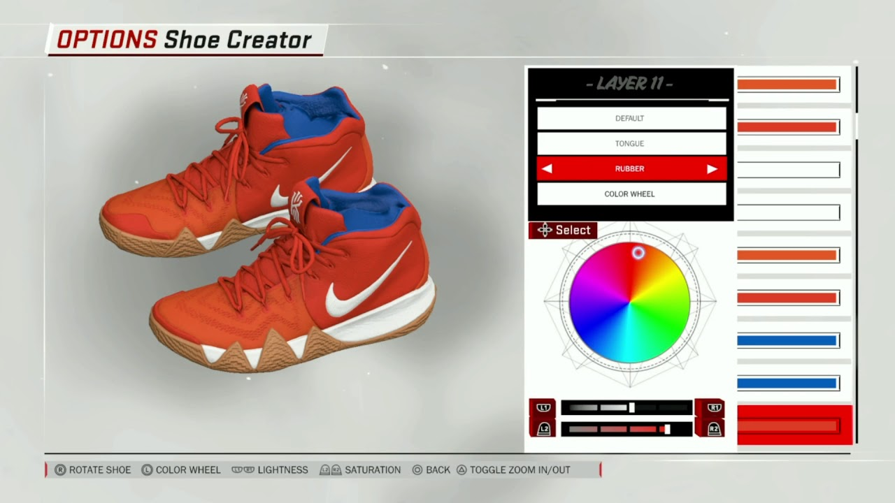 cheap for discount 2d548 5c7b5 NBA 2K18 Shoe Creator | Nike Kyrie 4