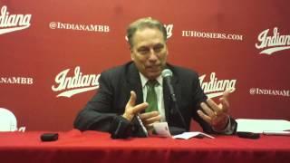 Tom Izzo recaps Michigan State win over Indiana