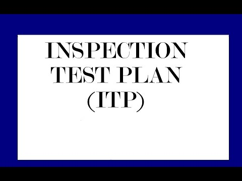 Piping,Welding,Non Destructive Examination-NDT!   Inspection Test Plan -ITP