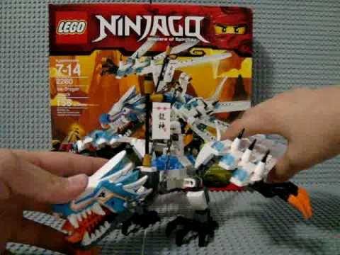 "Lego Ninjago Masters Of Spinjitzu:2260 ""Ice Dragon Attack""- Review ..."