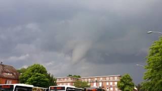 #2 Tornado Hamburg 07.06.2016 Windhose Wirbelsturm