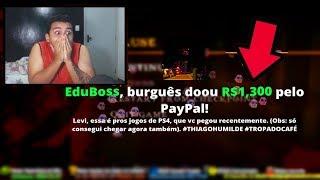 😭 me EMOCIONEI com 💰 R$ 2.000,00 DE DOAÇÃO numa live