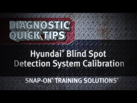 Diagnostic Quick Tips - Hyundai Blind Spot Detection System Calibration