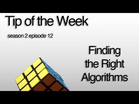 Tip of the Week s2 e12 Finding the Right Algorithms