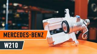 Jak i kiedy wymienić Zestaw naprawczy zacisku MERCEDES-BENZ E-CLASS (W210): instrukcje wideo