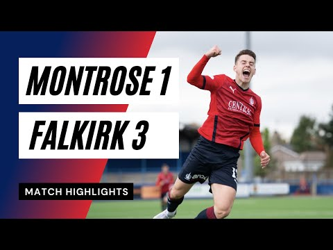 Montrose Falkirk Goals And Highlights
