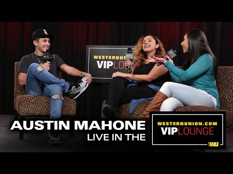 Austin Mahone talks about dating Beck G, getting creative in the bathroom and his new album.