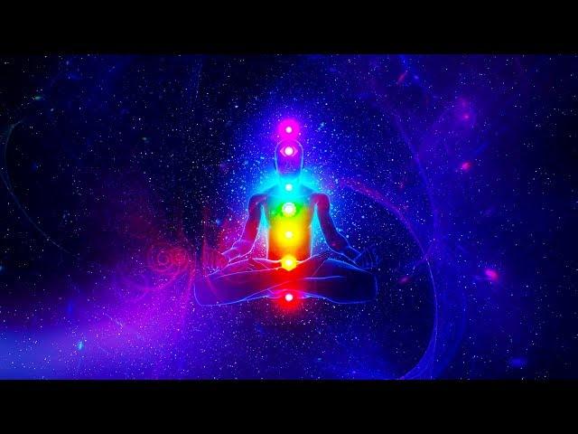 Aura Cleansing Meditation !! Purify All 7 Chakras Healing Sleep Meditation