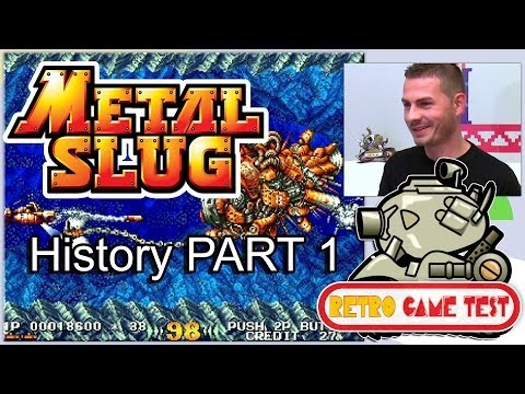 Metal Slug History PART 1 - In the Hunt & GunForce 2 - Retro Game Test
