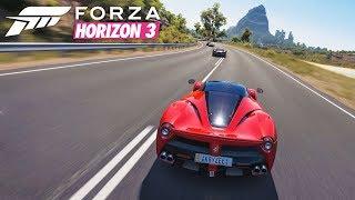 Forza Horizon 3 | Beautiful Road Trip in a Ferrari LaFerrari