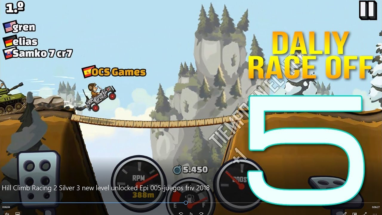 New Level Hill Climb Racing 2 Silver 3 Unlocked Epi 005 Juegos