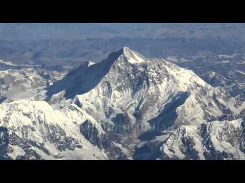 Fabulous aerial shots of mighty Mount Makalu