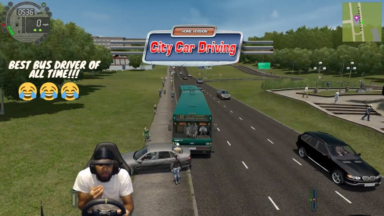 The KING of No Hesi and Bus Driving.... Kind of... - City Car Driving