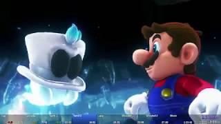 Super Mario Odyssey - World Peace Speedrun in 1:23:22 [World Record]