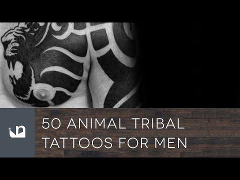 50 Animal Tribal Tattoos Tattoos For Men
