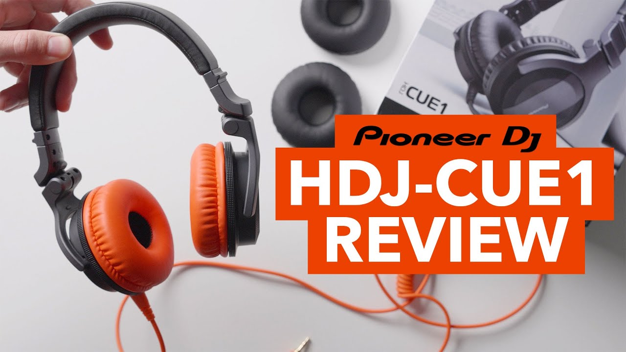 Pioneer DJ HDJ-CUE1 Headphone Review! - The best DJ headphones for beginners?