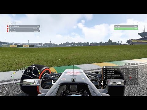 One Mistake... - F1 2017 Precision Racing League - S12 R19 - Brazil