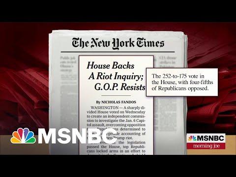 House Passes Bill To Create January 6 Commission   Morning Joe   MSNBC