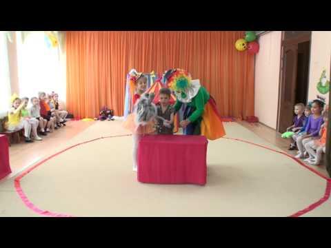 Защита проекта в детском саду