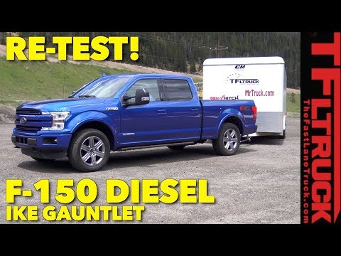 Re-Test: 2018 Ford F150 Diesel takes on the World's Toughest Towing Test AFTER DNF