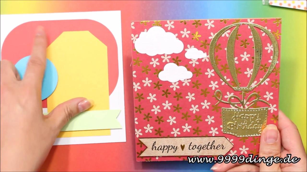 Basteln Mit Papier Karten Basteln Bastelkanal Diy Ideen