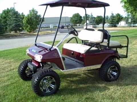 2006 Club Car Ds Gas Golf Cart Many Upgrades Jake S A Arm Lift