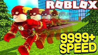 ROBLOX SPEED SIMULATOR! *FASTEST MAN ALIVE*