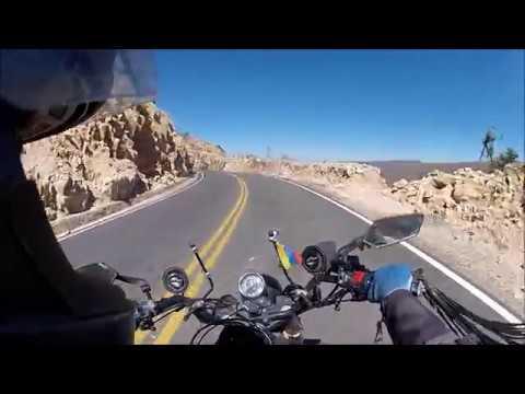 viaje Sudamérica moto ruta cochabamba - sucre BOLIVIA