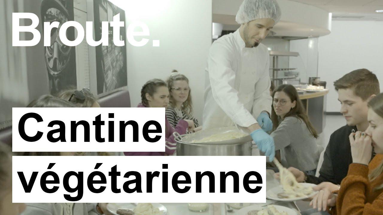 Cantine végétarienne - Broute - CANAL+