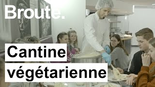 Cantine végétarienne - Broute - CANAL+