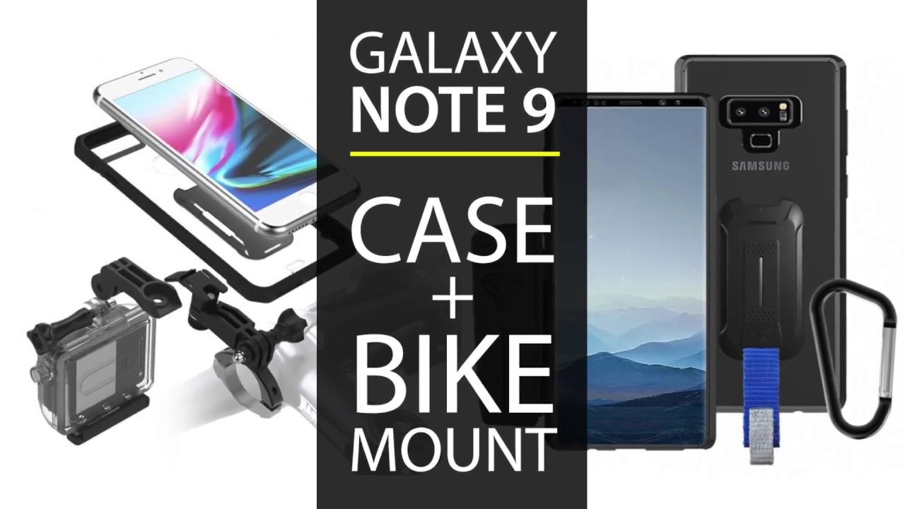 new style 44b79 47cf5 Samsung Galaxy NOTE 9 Waterproof / Shockproof Case + Bike Kit & 40+ Mounts  | ARMOR-X