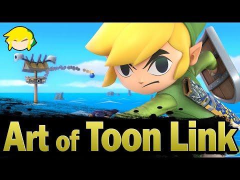 Smash Ultimate: Art of Toon Link - IzawSmash