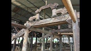 Nhà gỗ lim-bán nhà 3 gian gỗ lim