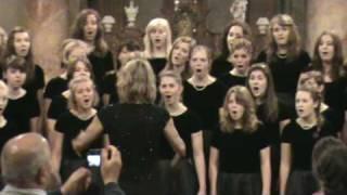 Bella Voce sings Psalm 23 at St Nicholas Cathedral, Prague