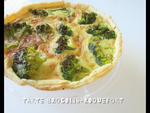 délicieuse-tarte-aux-brocolis-et-roquefort