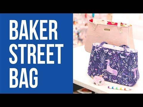 How to Make a Baker Street Bag