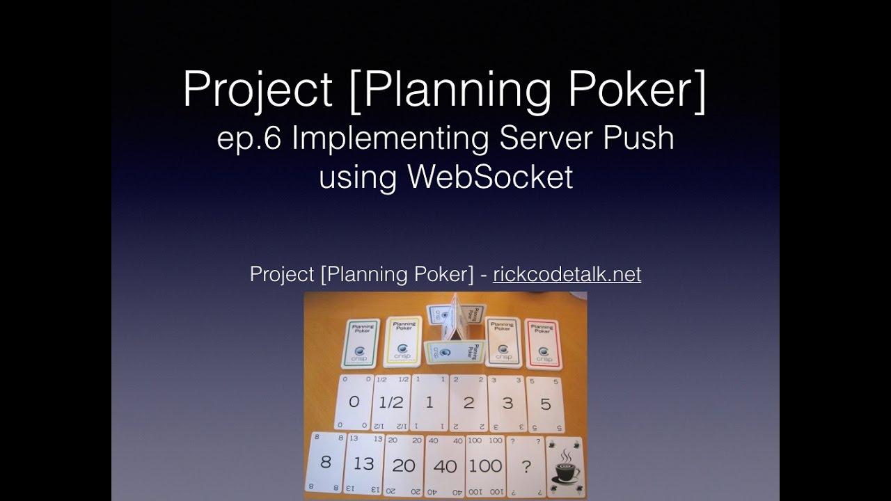 [Project Planning Poker] ep 6 - 用WebSocket做伺服器數據推送 (用 Angular2, Nodejs,  rxjs, websocket    )