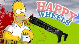 Happy Wheels - MATA AL ALCOHÓLICO!!