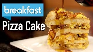 DIY GIANT BREAKFAST CAKE