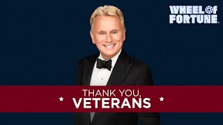 Thank you, Veterans! | Wheel of Fortune